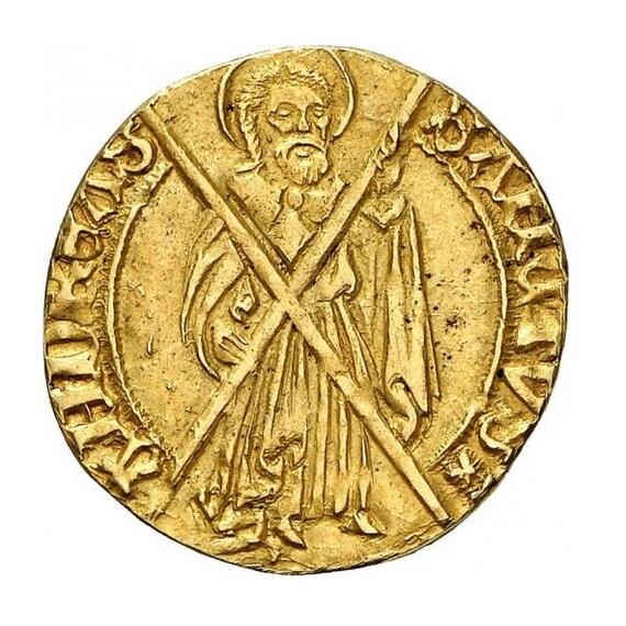 Replikat Mittelalterliche Münze Gulden Prägung Geprägt Etsy