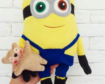 c7086c9f058f Minion, minions, minion gift, plush minion, plush toy, minion gifts,  despicable me minion, cute toys, kids toys,despicable minion,kawaii toy