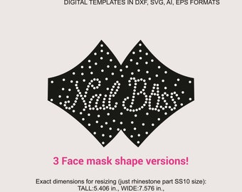 silhouette and more digital rhinestone template I am a nail tech what is your superpower rhinestone download file for cricut