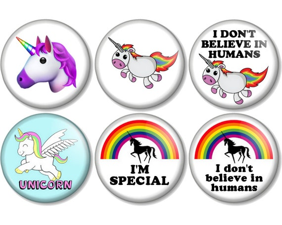 25mm Pin Button Badge Cute Cartoon Kids Sketch No Funny Humour Stop 1 Inch
