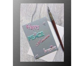 Greeting card, Christmas, holidays card