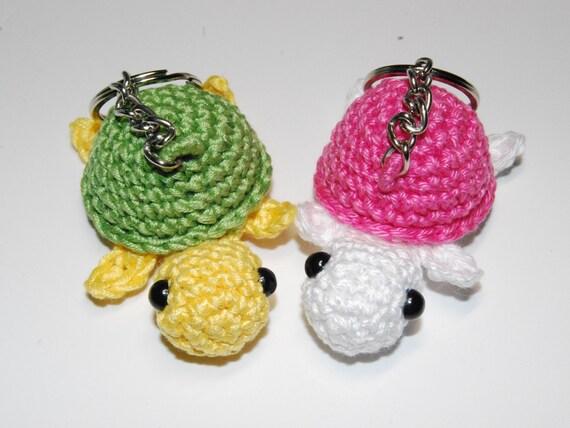 Amigurumi Turtle Keychain Free Crochet Pattern - Crochet.msa.plus | 428x570