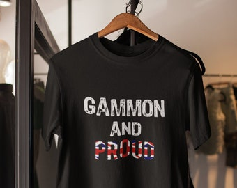 2a13e2a6 Gammon Pride Shirt - Funny Brexit Shirt - Brexit Unisex Jersey Short Sleeve  Tee- Funny Gammon Brexit Shirt