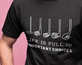50669460 Golf Shirt - Golf Gift Shirt - Funny Golf Shirt - Golf Clubs Shirt -  Fathers Day golf - Love Golf Shirt - Love Golf Gift - Mens Golf Gift