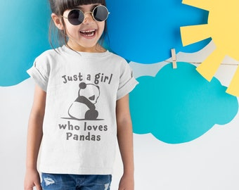 c195287775 Kids Panda Shirt- Cute Panda Shirt -Cool Panda Shirt - Cool Kids Panda -Funny  Kids Panda - Best Panda Tee -Girls Panda Shirt - Cute Girls