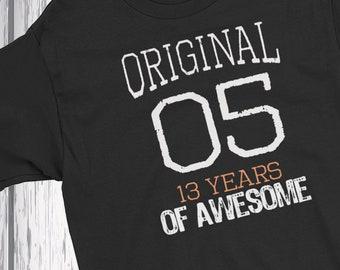 Boys 13th Birthday 2005 T Shirts