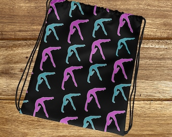 Gymnastics Grip Bag- Gymnastics Bag - Gymnasts Bag - Gymnastics Gifts - -  Gymnastics Gift Bag - Girl gymnastics Bag - Cute Gymnastics Bag 984435e1a1478