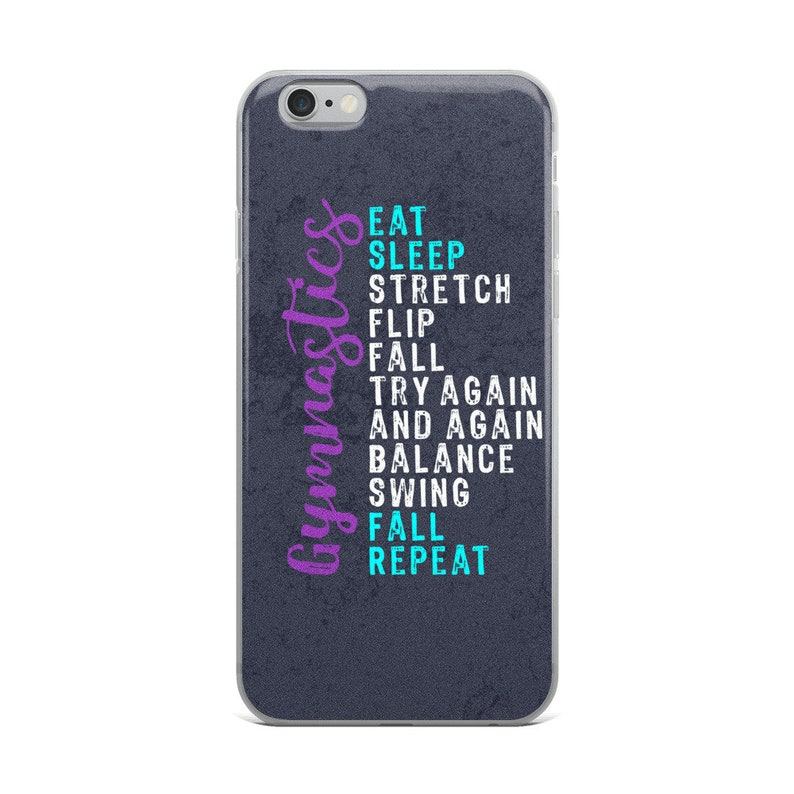buy online f0fb5 8f70b Gymnastics iPhone Case - Gymnasts Phone Case -Gymnastics Gifts -Gymnastic  gift - Gymnast Phone Cover-Gymnastics Case - Eat Sleep Gymnastics