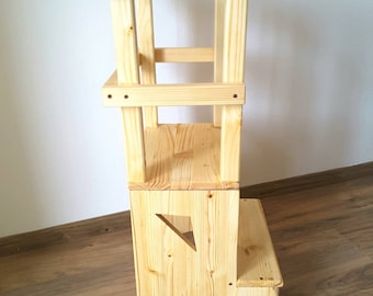 Learning tower torre di apprendimento sgabello stile etsy