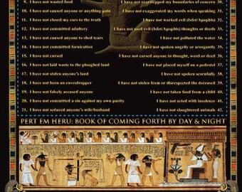 42 Laws of MAAT