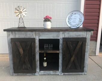 Coffee bar table | Etsy