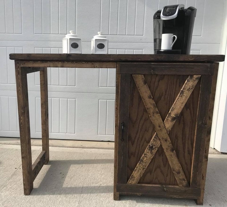 Amazing Coffee Bar Mini Fridge Coffee Bar Cabinet Farmhouse Style Coffee Or Tea Bar Coffee Bar With One Hinged Door With Small Storage Download Free Architecture Designs Pushbritishbridgeorg