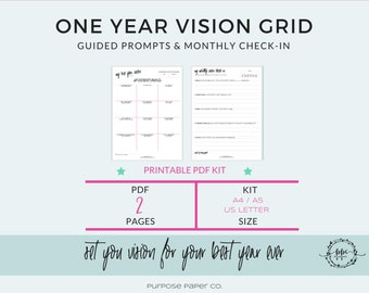 Career Performance Printable Growth Tracker Career | Etsy