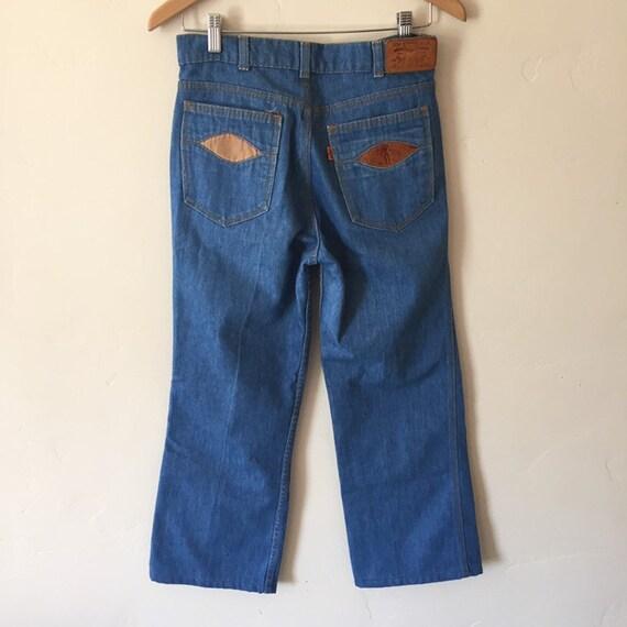 60s Orange Tab Levis Decorative Pockets 30