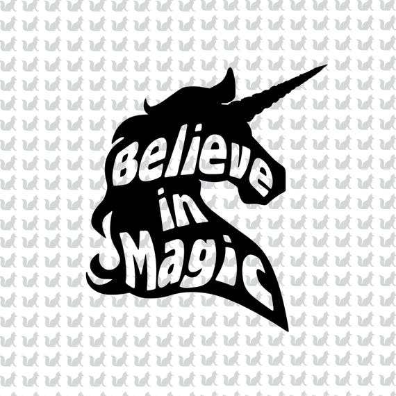 Believe In Magic Unicorn Create Magical Totes Tshirts Etsy