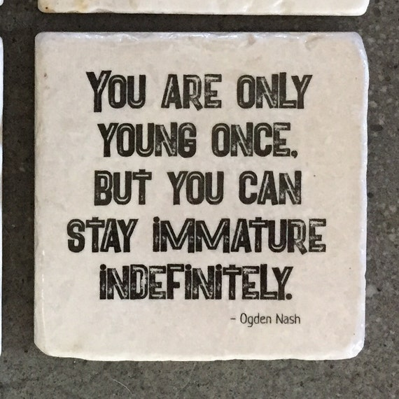 You Are Only Young Once Christmas Gift Office Party Gift Etsy