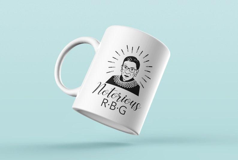 eaf6130b067 RBG Coffee Mug Notorious RBG Coffee Mug Notorious RBG Gift | Etsy