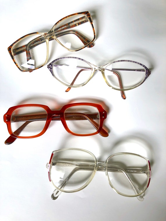 Retro Frames / Vintage Eyeglasses / Oversized Glas