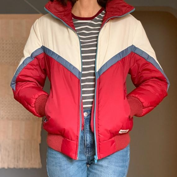 Retro 1980s Puffer Jacket