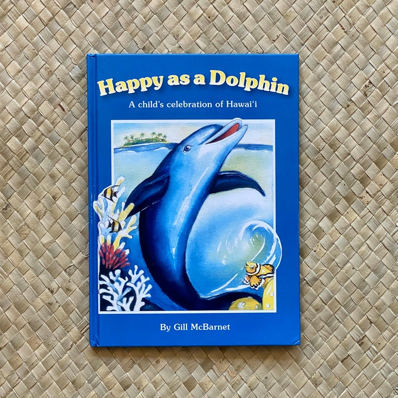 Happy as a Dolphin by Gill McBarnet  baby book bedtime image 0