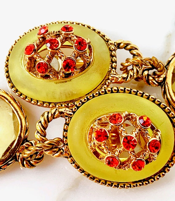 CLAIRE DEVE MASSIVE 80s Vintage French Earrings - image 3