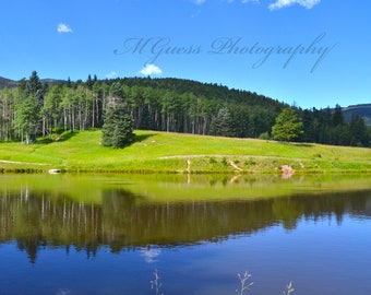 Reflection Lake// Quality Home Office Prints