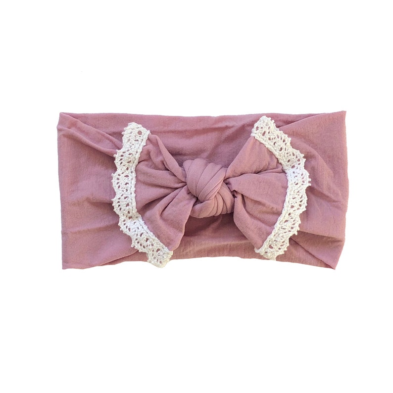 Rose Nylon Headband