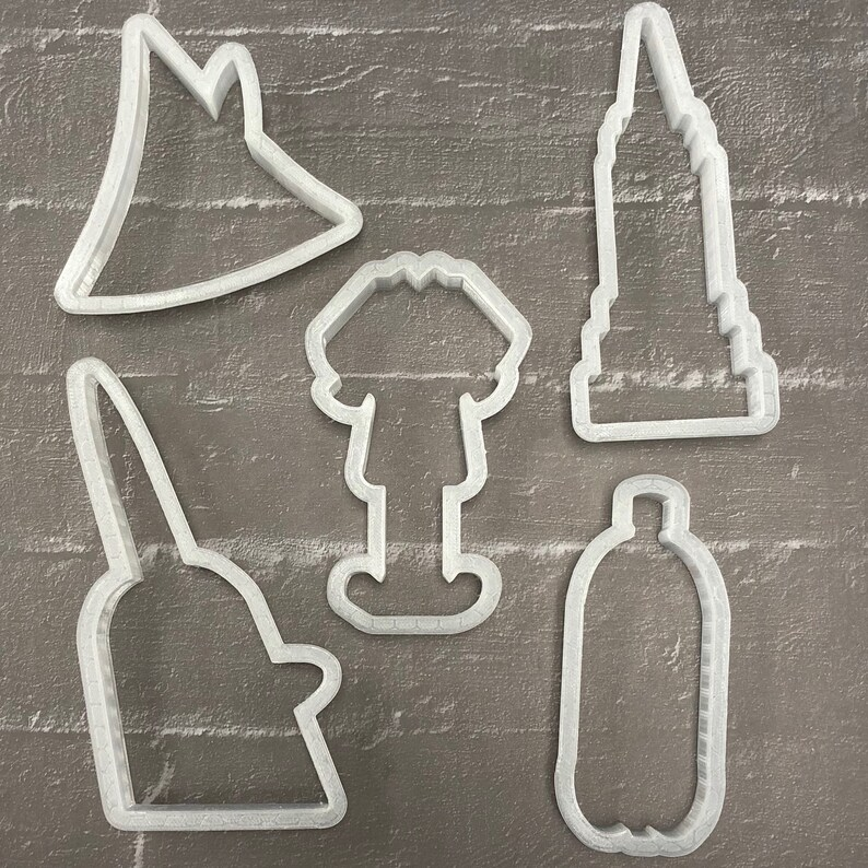 30aee46e Elf Cookie Cutter Set/ Set Of 5 Cookie Cutters/ Buddy Elf   Etsy