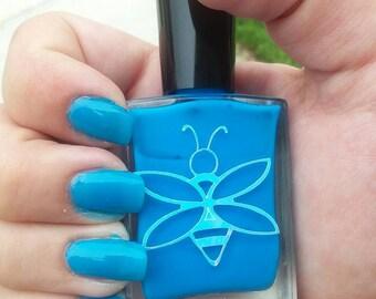 BeeFae Nail Polish- Blue Raspberry
