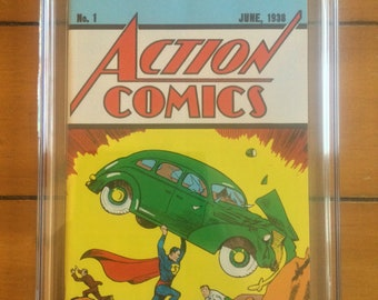 Action Comics #1 CGC 8.5 Loot Crate Edition
