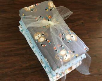 Cloth Diaper w/ Zorb II , Prefold Diaper , Reusable Diaper, Burp Cloth, Trifold Zorb Soaker Booster, Diaper Insert Baby Branch Boutique