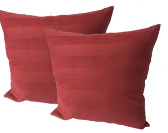 """Large cushion covers or complete cushions 22""""x 22"""" each  Pack of 2"""