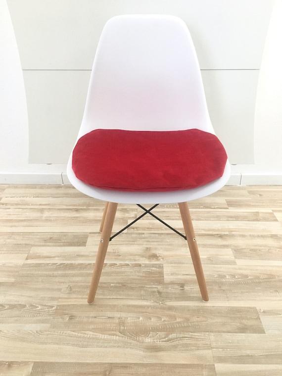 Seat Cushion Eames Eames Pad Padded Samtoptik Red Eames | Etsy