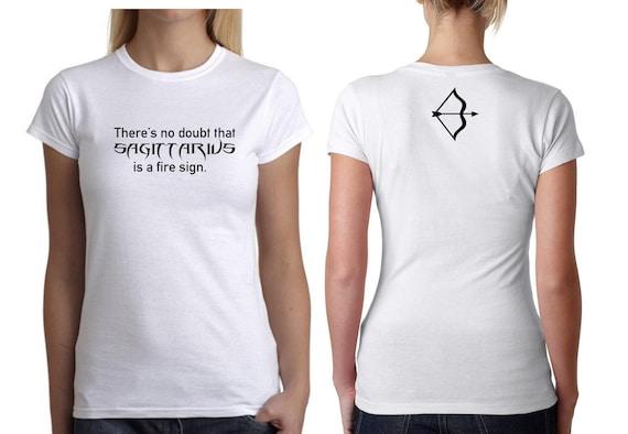 Virgo star signe zodiac signes astrologiques femmes t-shirt femme tee noir unique