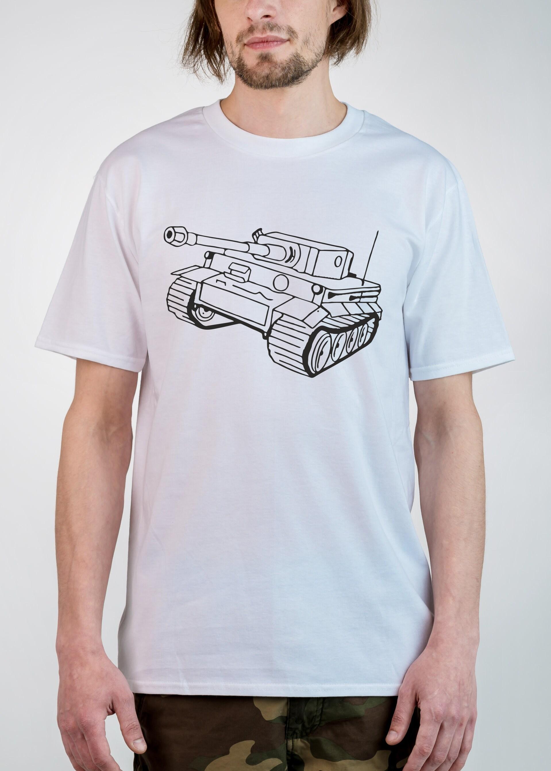 Tiger Tank T Shirt German Tank Tshirt Gift For Gamer Shirt For Etsy