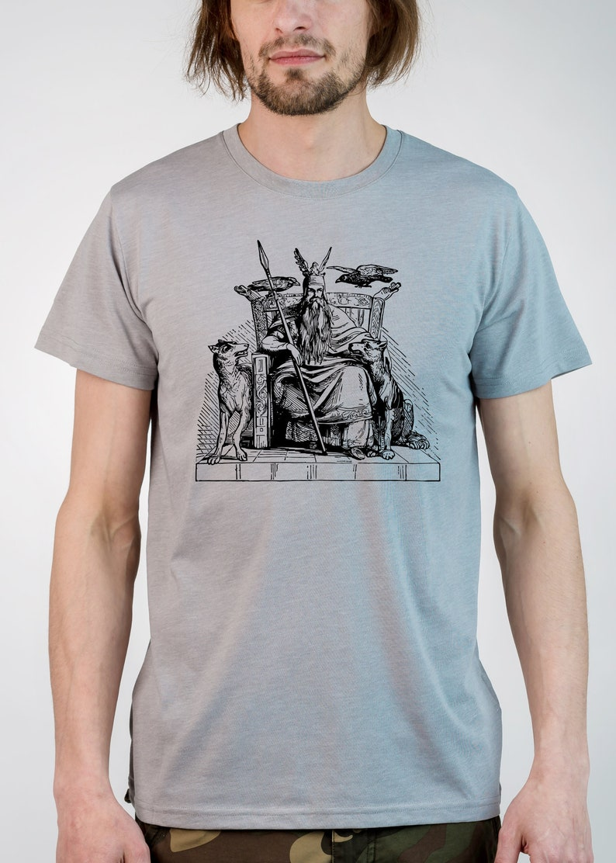 824963611 ODIN OLD NORSE Tee Men's Women's Viking T-shirt | Etsy