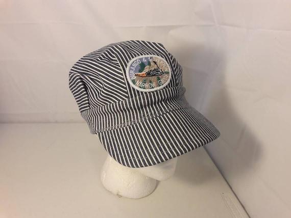 55d40447083 Vintage Durango   Silverton Narrow Gauge Conductor Hat