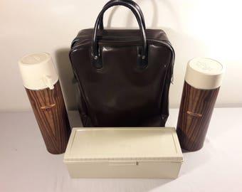 Vintage Thermos Brand Picinic Set