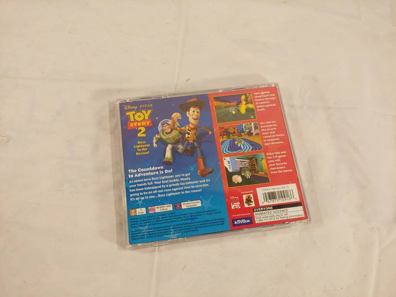 Original Playstation 1 Toy Story 2