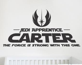 Custom Name - Star Wars Inspired - Nursery / Bedroom