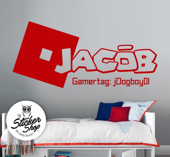 Roblox Custom Name Decal Etsy
