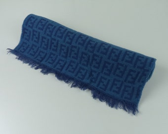 ab342400464 Fendi Scarves 100% Wool Made in Italy 14