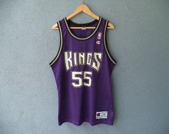 Vintage NBA Sacramento Kings Jason Williams Champion Jersey Size 40 21