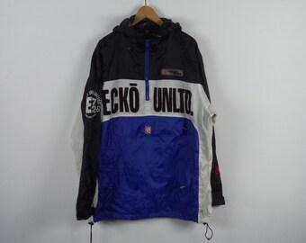 b1c9baff2d6e6 Vintage Ecko Unltd Nylon Jacket Size XLarge 26