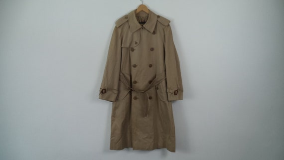 Vintage Burberrys Trench Coat Size UK 16