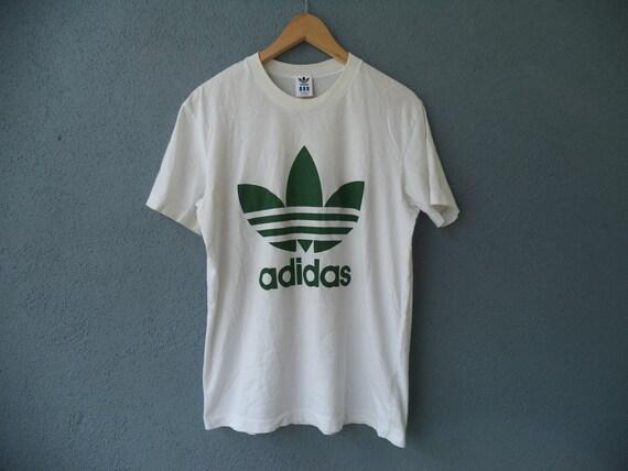 T Adidas Size Shirt Medium Trefoil Vintage 19 wPOkn0