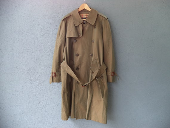 Vintage Burberrys Trench Coat Size Uk, Trench Coat Vintage Burberry