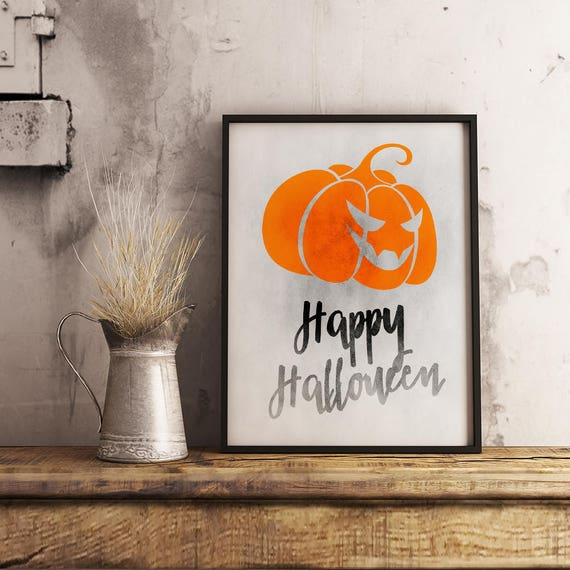 Fall Print Halloween Print Art Print Watercolor Witch Better Have My Candy Printable Halloween Party Instant Download