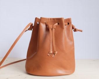 Bucket Bag | Cognac