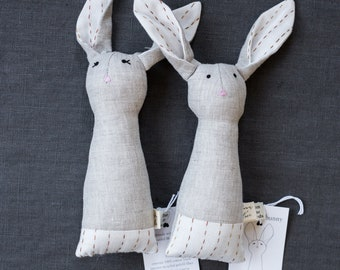 HONEY kantha heirloom bunny